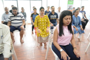 Corporate Yoga With Harmony Distributors Pvt. Ltd. On International Yoga Day 2018