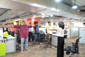 Corporate Yoga On International Yoga Day 2018