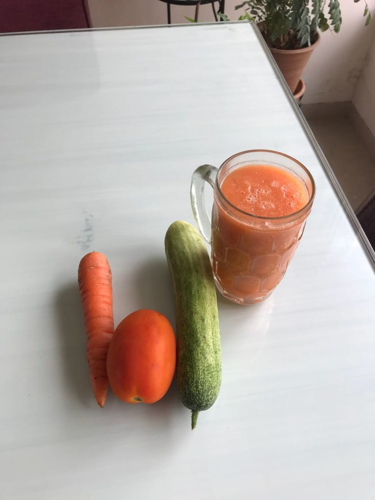 weight loss diet vegetable juice for breakfast
